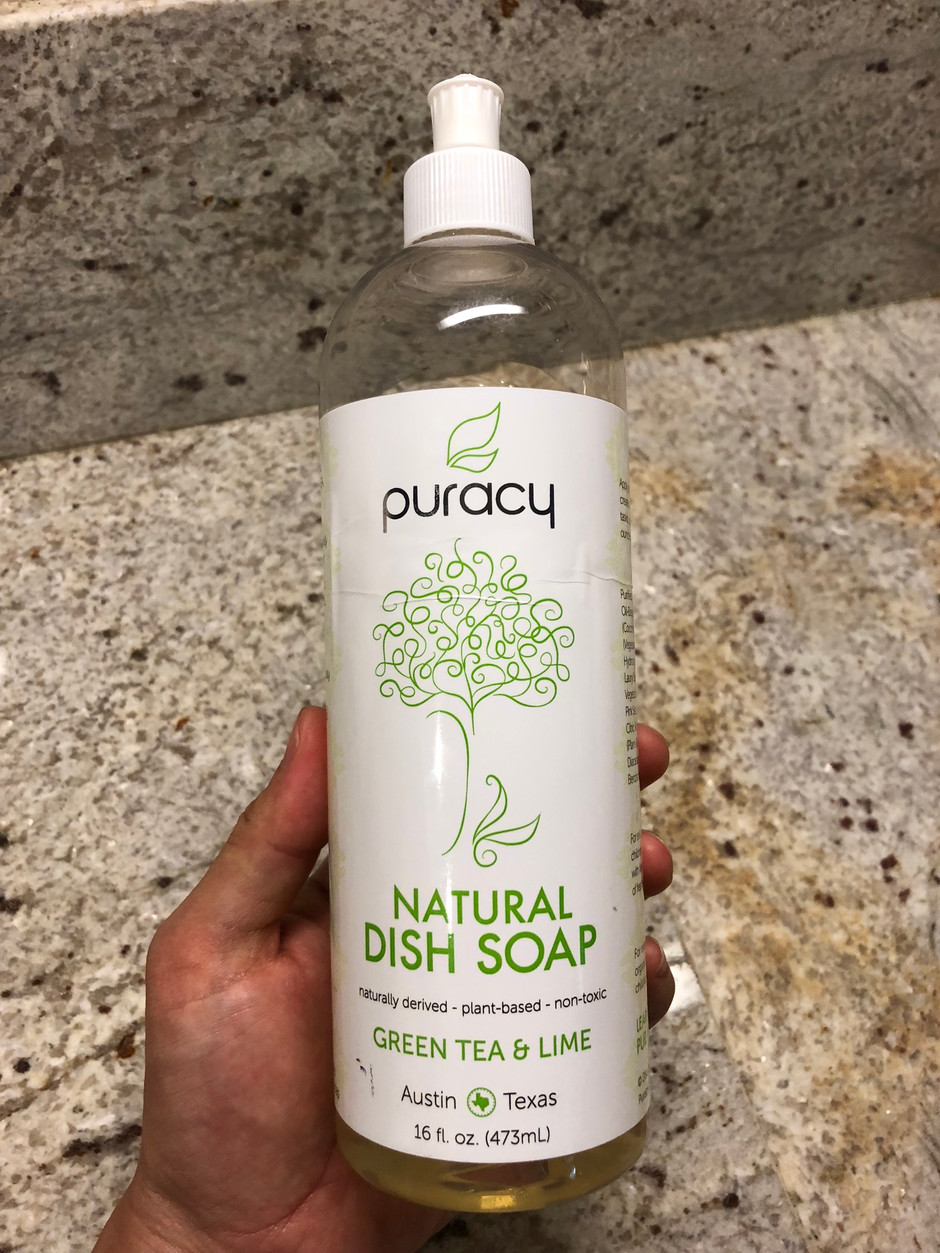 Natural Liquid Dish Soap