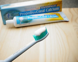 Natural Coral Calcium Bee Propolis Toothpaste With No Preservative