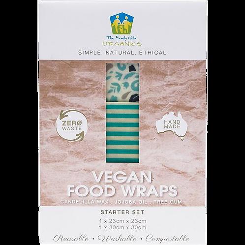 The Family Hub Organics - Vegan Food Wraps Starter Set