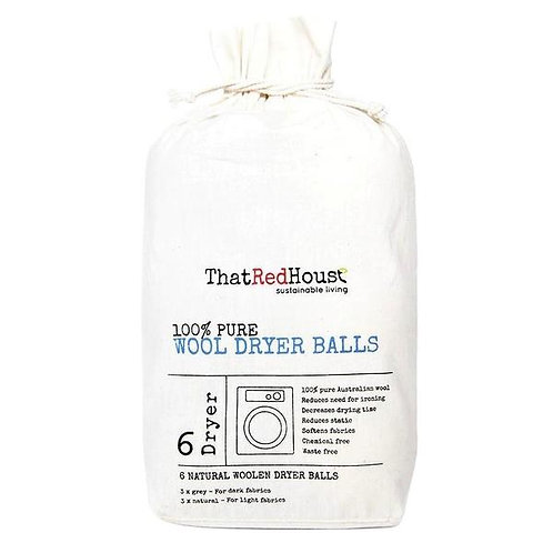 That Red House - Wool Dryer Balls