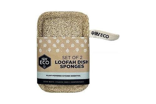 Ever Eco - Loofah Dish Sponges 2pk