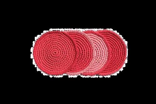 Retro Kitchen - Crocheted Coaster