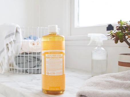 Dr Bronner's Castile Soap - 18 Zero Waste Uses