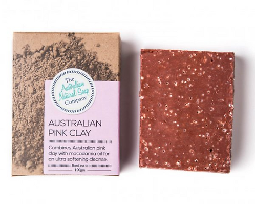Australian Natural Soap Company - Pink Clay Soap