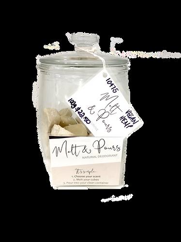 Survive Naturals - Melt & Pour Deodorants Vegan Hemp