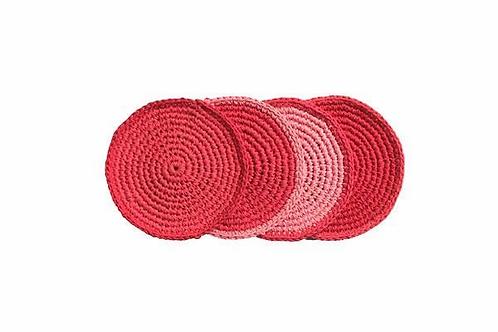 Retro Kitchen- Crocheted Coaster