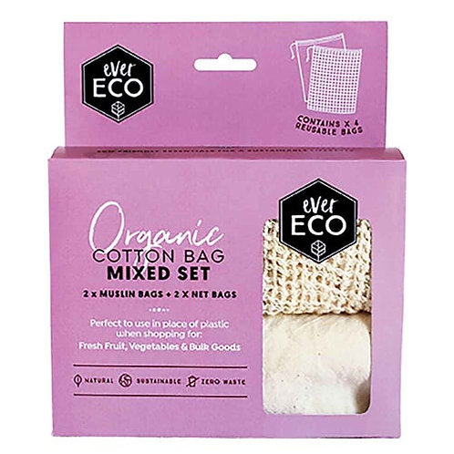 Ever Eco - Cotton Mixed Set Produce Bags