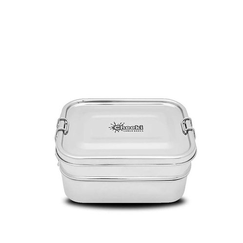 Cheeki - Stainless Steel Lunch Box Double Stacker 1L
