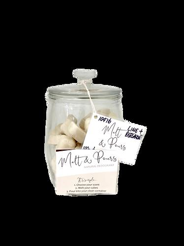 Survive Naturals - Melt & Pour Deodorants Lime & Bergmot