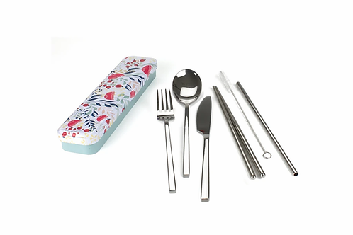 Retro Kitchen - Carry Your Own Cutlery Set