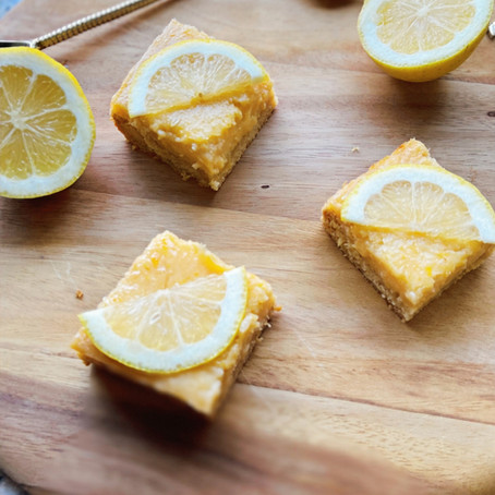 Rachel's Healthy Lemon Bars