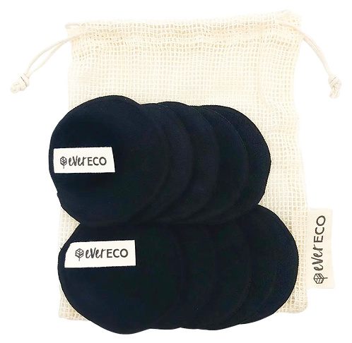 Ever Eco - Reusable Bamboo Face Pads (Black)
