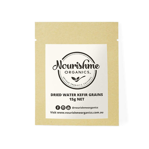 Nourish Me Organics - Water Kefir Grains