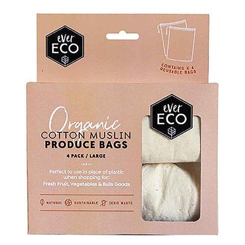 Ever Eco - Cotton Muslin Produce Bags