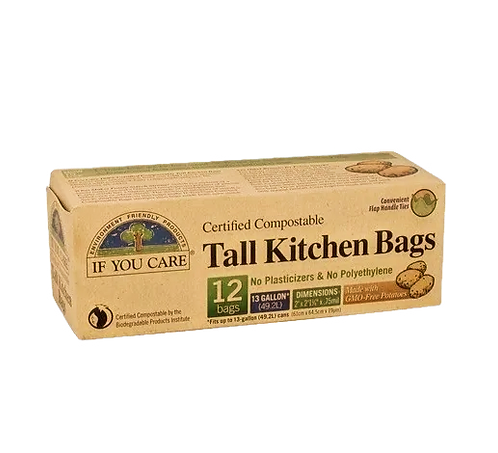 If You Care - Tall Kitchen Bags
