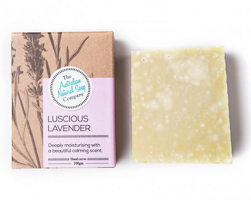 Australian Natural Soap Company - Lavender & Peppermint Soap