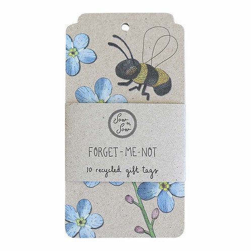 Sow N Sow - Recycled Gift Tags (x10 Pack)