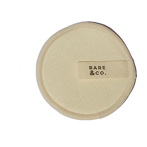 Bare & Co - Reusable Hemp Make Up Face Pads 12pk