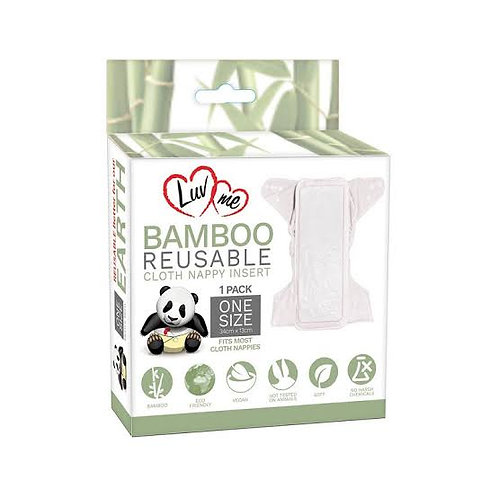 Luv Me - Bamboo Insert (1 Pack)