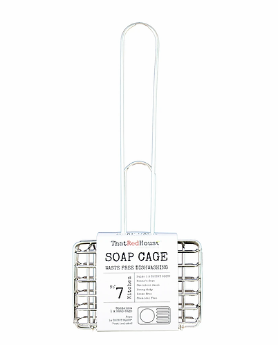 That Red House - Stainless Steel Soap Cage