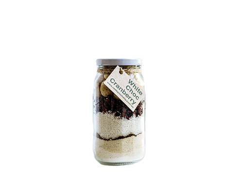 Raw By Rochelle - DIY Bliss Ball Jar White Chocolate Cranberry