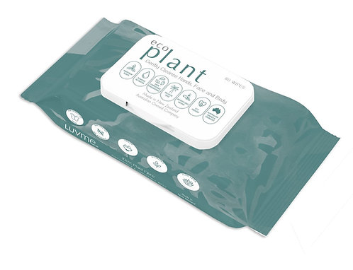 Luv Me - Plant Biodegradable Wipes