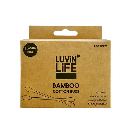 Luvin Life- Compostable Bamboo Cotton Buds