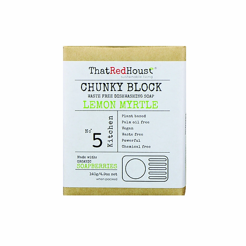 That Red House - Chunky Block Waste Free Dishwashing Soap
