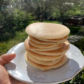 "Pancakes ""proteici"""