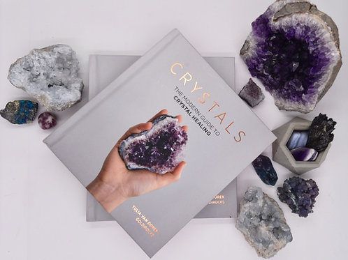 Crystals: The Modern Guide to Crystal Healing (Hardcover)