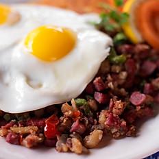 Krögarpytt med rödbetor & ägg sufflé