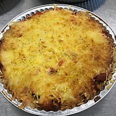 Lufttorkad skinka & gorgonzola