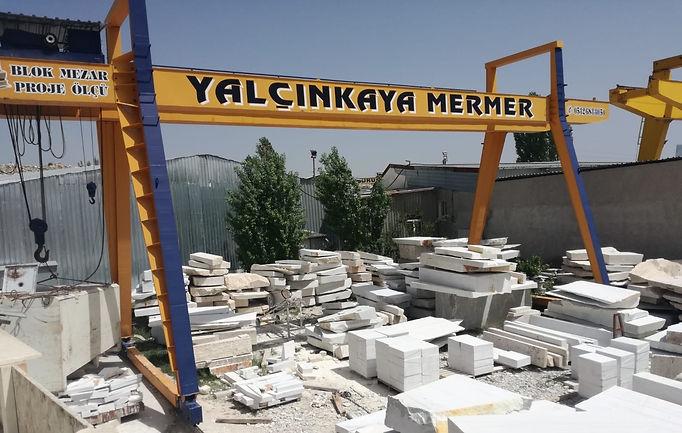 Mermer, Yalçınkaya Mermer, Yalçınkaya Marble, Yalcinkaya Marble, Marble, Travertine, Blok Mezar, Block Tomb, Tombstone