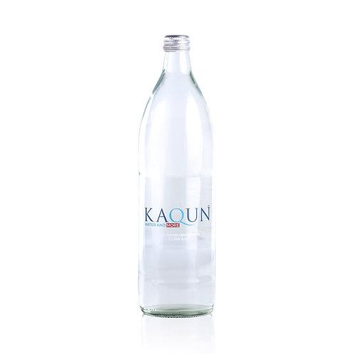 DRINKING WATER Glass Bottles 6-pack - 1.0 L bottle x 6