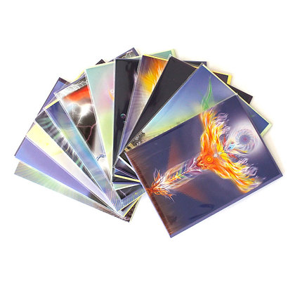 Set of 12 cards