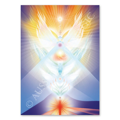 Angel of Mount Warning, NSW - Card