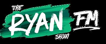 The Ryan Show FM Green White Drop Shadow