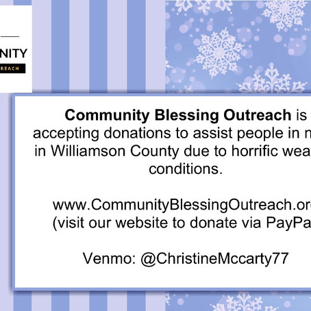 Donate to assist people in need in Williamson County
