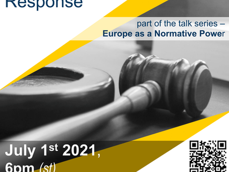 Online Talk, July 1st: The Rule of Law Crisis and the EU's Response