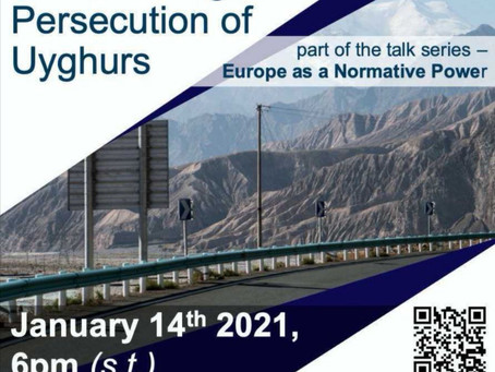 Online Talk, January 14th: The Independent Uyghur Tribunal