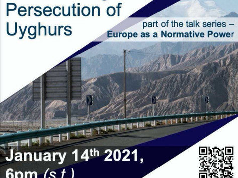 Online Talk, January 14th: The Independent Uyghur Tribunal