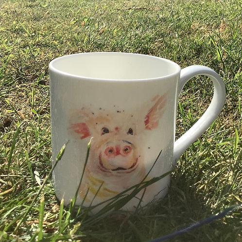 Piggy mug