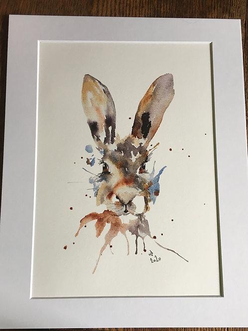 Hare print