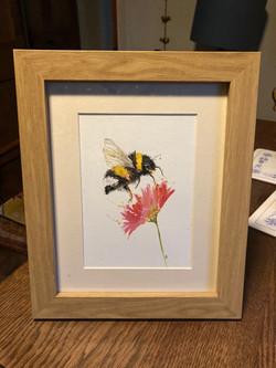 Bee watercolour