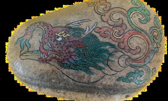 Mitun Tunjor Sea Lion Head, and Conch body