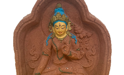White Tara made with Sandalwood Power