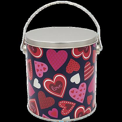 Valentine's Popcorn Tin - 1 Gallon