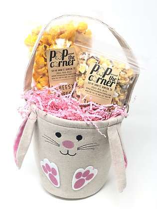 Pink Easter Bunny Basket