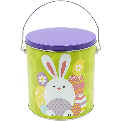 Easter One Gallon Tin