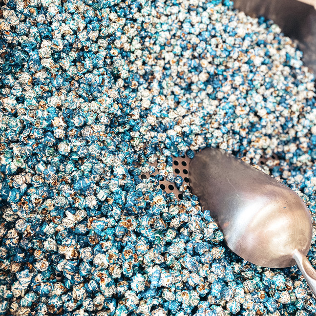 Blue Kettle Corn